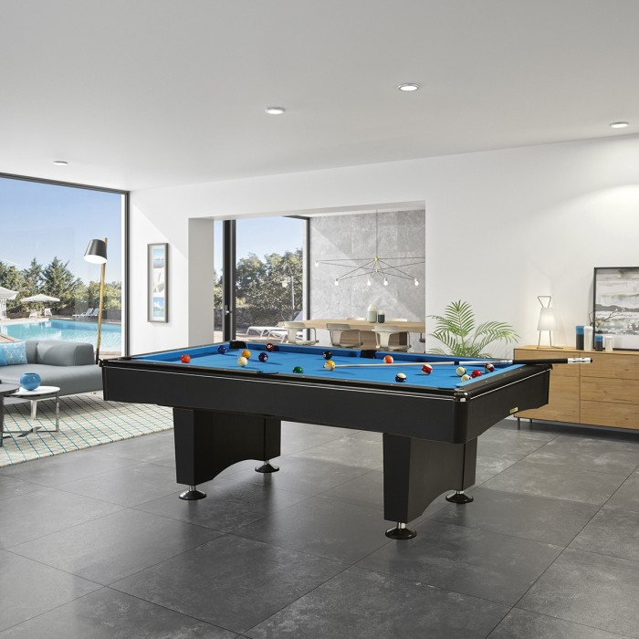 With A Contemporary And A Loft Styled Look, This Billiard Table Will Be  Perfect In Your Interior. The Wide Jacks On The Legs Bring Some Stability  And A ...