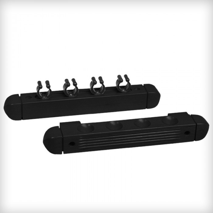4 cueues cue rack black