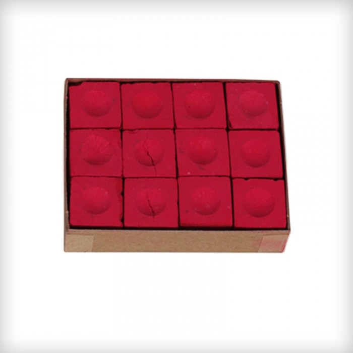 Red Master chalk set