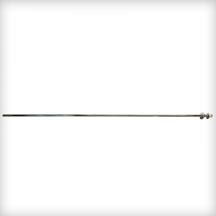 Interior football table rod